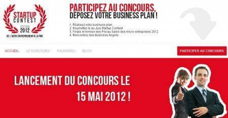 Concours de Startup 2012