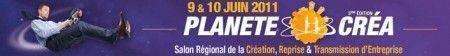 Salon de la création d'entreprise à Caen en juin 2012