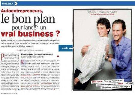 dossier autoentrepreneurs le bon plan pour lancer un vrai business. Black Bedroom Furniture Sets. Home Design Ideas