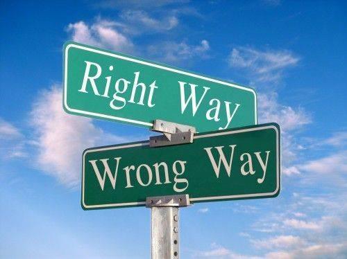 Prendre la bonne decision