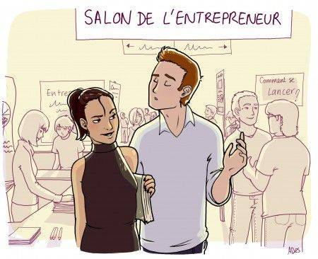 Salon de l' auto entrepreneur