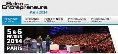 Salon des Entrepreneurs à Paris les 5 6 février 2014
