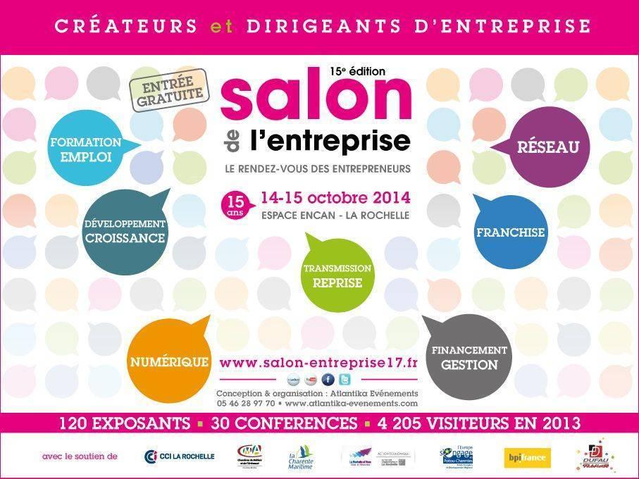 Salon entreprise la rochelle for Salon entreprise