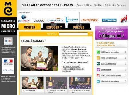 Salon Micro Entreprises 2011 Paris