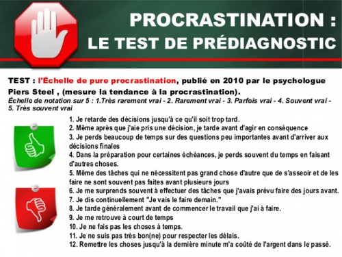 test-procrastination