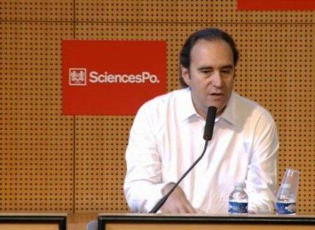 xavier niel à sciences po